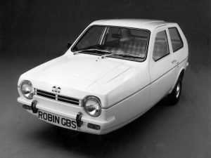 Robin Reliant car