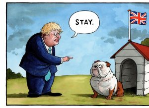 Boris Stay Dog