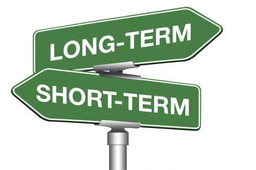Short term and long term gains